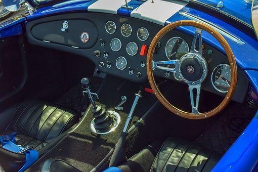 Car, Interior, Dashboard, Vehicle, Auto, Steering