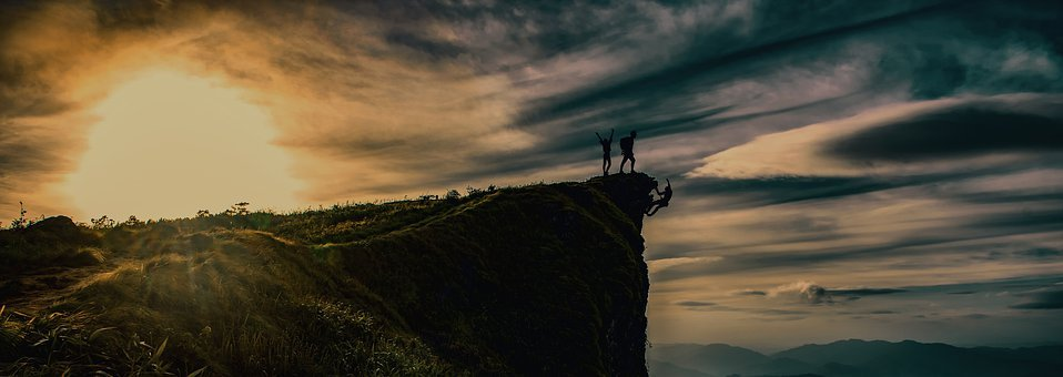 Adventure, Friends, Group, Teamwork, Nature, Travel