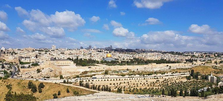 Jerusalem, Israel, Holy Places, Panorama, Travel