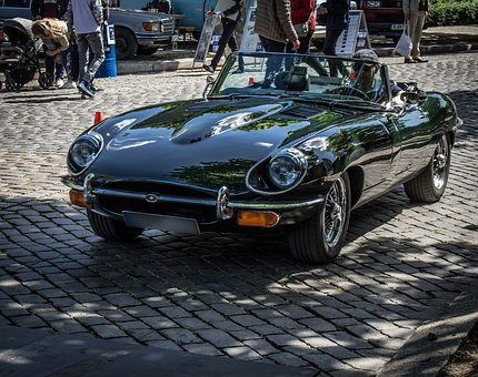 Jaguar, E Type, Classic, Oldtimer, Cabriolet, Luxury