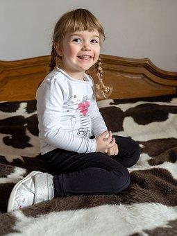 Portrait, Girl, Child, Smile, Kids, Person, Face