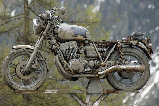 Oldtimer, Motorcycle, Old Motorcycle, Machine, Classic