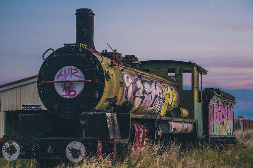 Locomotive, Railway, Steam, Vintage, Old, Nostalgia