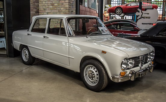 Alfa Romeo, Oldtimer, Giulia Super, Historically