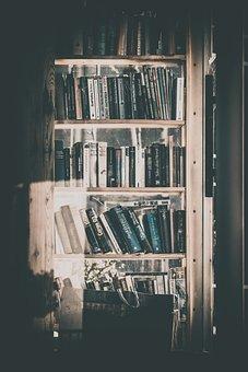 Books, Bookshelf, Phone Booth, Library, Book