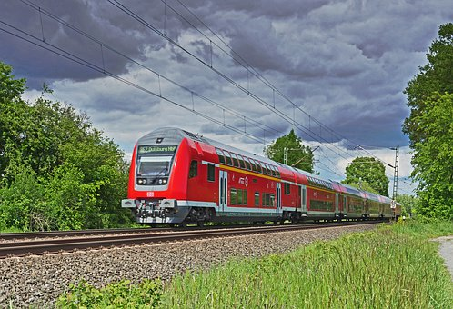 Regional-express, Railway, Deutsche Bahn, Double Decker