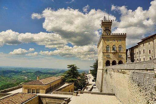 San Marino, Republic, Town Hall, Architecture