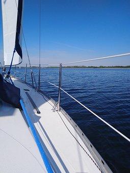 Yacht, Ship, Sails, Sailing, Cruise, Deck, Tourism