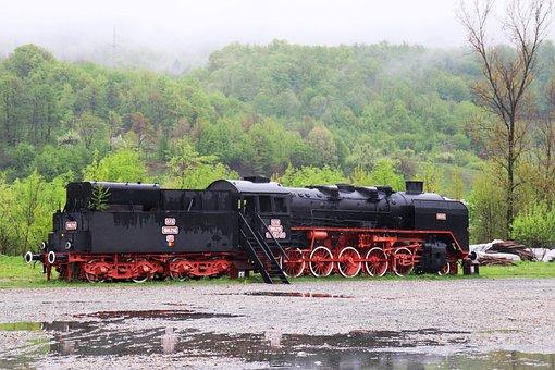 Locomotive, Steam Locomotive, Steam Train, Train