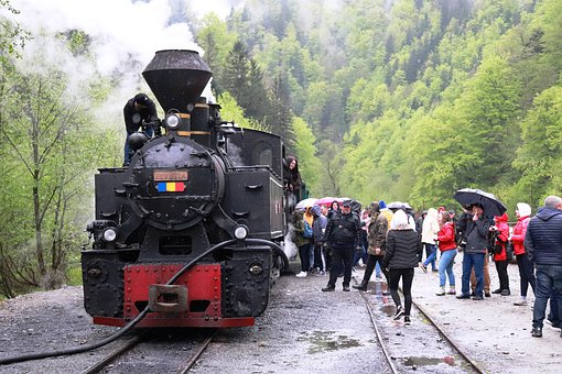 Steam Train, Train, Transport, Travel, Retro