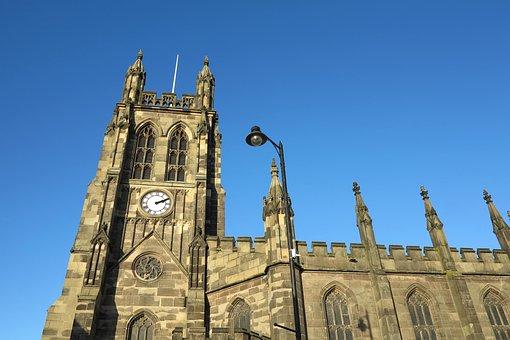 Stockport, Church, Architecture, Building, Religion