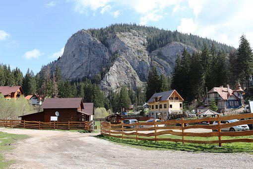 Cabin, Guest House, Stones, Rocks, Hiking, Mountains