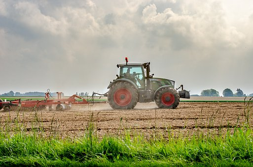 Tractor, Labour, Fields, Agriculture, Rural, Machine