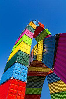 Iso, Container, Haulage, Trade, Freight, Export