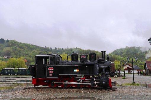 Locomotive, Steam Locomotive, Steam, Train, Transport