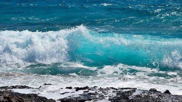 Wave, Transparent, Spectacular, Water, Sea, Nature