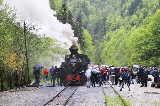 Steam Train, Train, Transport, Travel, Retro