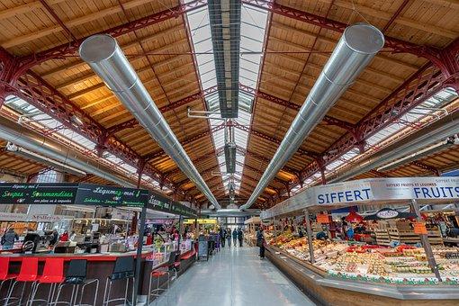 Mark Hall, Wood, Trade, Colmar, Vegetables, Snack