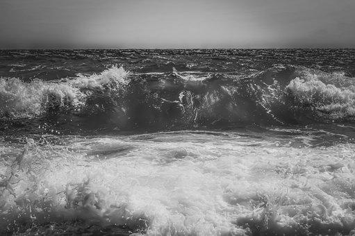 Wave, Sea, Water, Nature, Motion, Liquid, Energy, Power