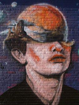 London, Wall Art, Wall, Street, Graffiti, Artwork