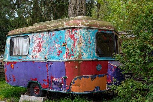 Caravan, Camper, Camping, Mobile Home, Travel, Holiday