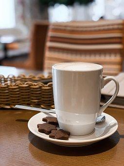 Coffee, Cappuccino, Mug, Latté