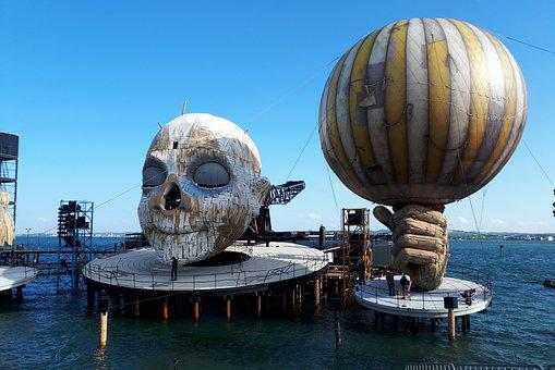 Lake Stage, Festival, Bregenz, Lake Constance, Stage