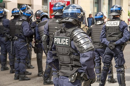 France, Police, Security, Event, Helmets