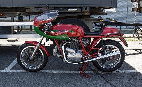 Ducati, Desmo, Italian, Oldtimer, Motorcycle, Machine