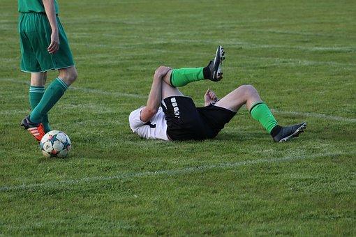 Injury, Foul, Free Kick, Football, Footballers, Knee