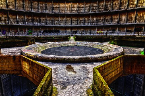 Cooling Tower, Power Plant, Lost Places
