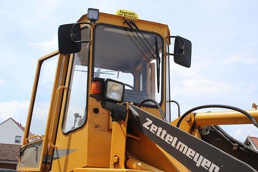 Excavators, Machine, Site, Construction, Vehicle