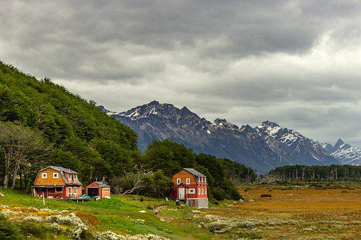 Patagonia, Argentina, Puertomadryn, Landscape, Canon