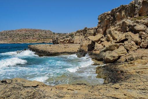 Rocky Coast, Cliff, Sea, Coast, Rock, Nature, Landscape
