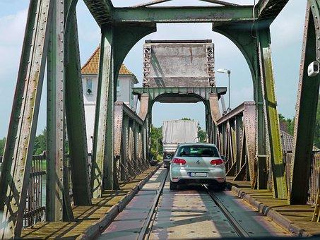Lindaunis Bridge, Schlei, Crossing, Road