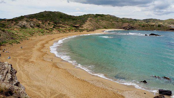 Landscape, Sea, Beach, Costa, Island, Cala, Bay, Summer