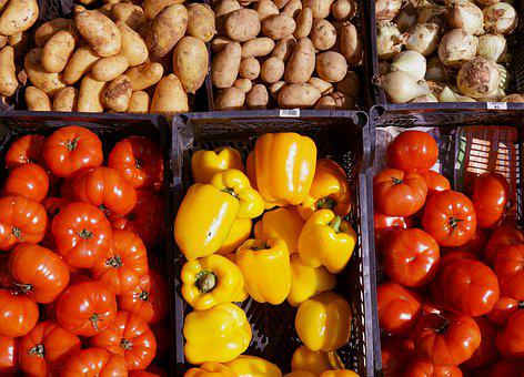 Fruit Tomato, Paprika, Vegetables, Nutrition, Eat