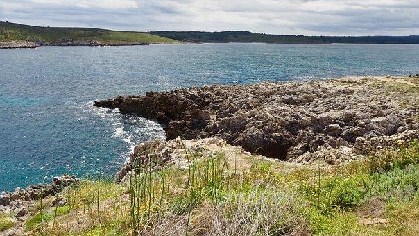 Cliff, Sea, Island, Landscape, Ocean, Nature, Water