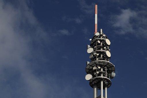 Mobile Communications, Radio Tower, Antenna