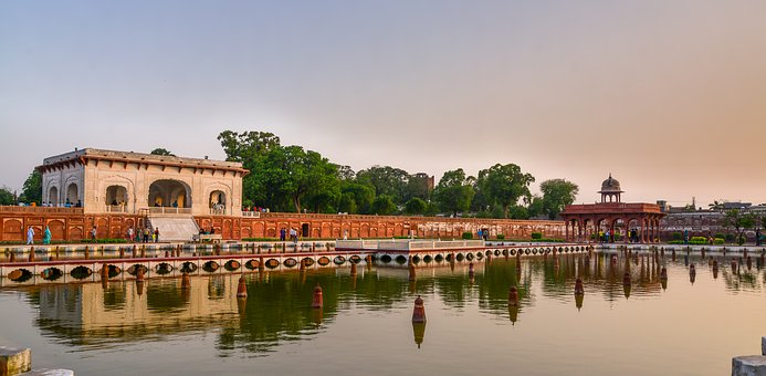 Lahore, Shalimaar Garden, Mughal, Architecture