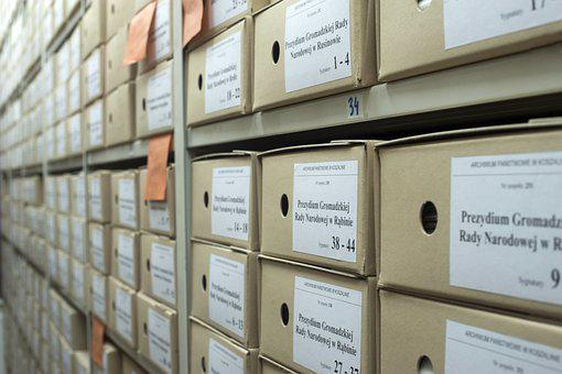 Archive, Boxes, Documents, Folders, Business, Data