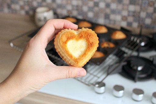 Cake, Baking, Kitchen, Maffin, Tasty, Eat, Eating