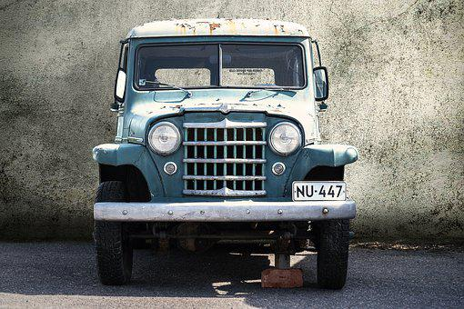 Transportation, Traffic, Car, Old, Land Rover