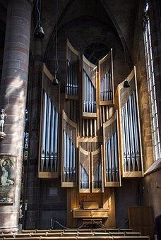 Church Of Our Lady, Frauenkirche Nürnberg, Organ