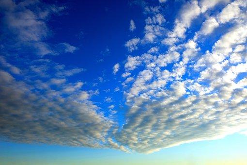 Cloud Formation, Sky, Arrow Shape, Nature, Landscape
