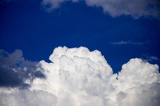 Clouds, Cumulus, Sky, Cloud Of Bunch Of, Cumulus Clouds