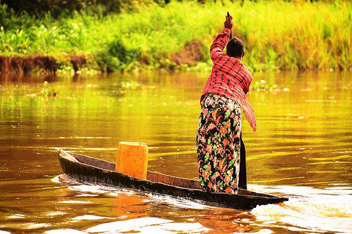 River Trading, Democratic Republic Of Congo, Barge Life