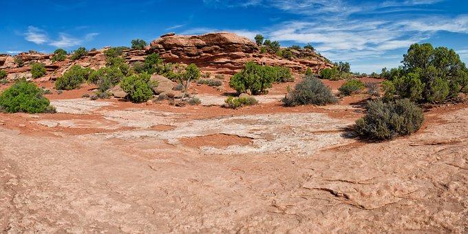 Utah, Landscape, Desert, Nature, Rocks