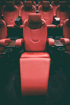 Cinema, Theater, Movie Theater, Sit, Chair, Cozy, Film