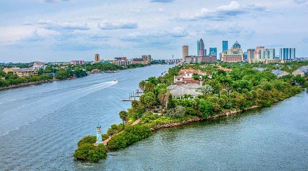 Tampa Bay, Florida, City, Skyline, Cityscape